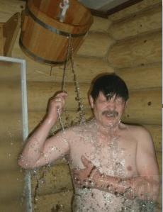 Зашел в баню попариться, а там...