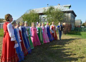 Празднуем День деревни в Слащево, Судогодский район Владимирской области