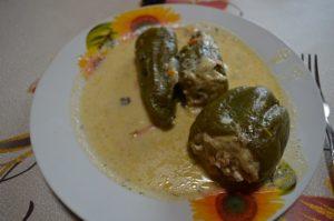 Пошаговый рецепт фаршированных перцев по-деревенски