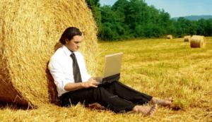 Бизнес в деревне через Интернет